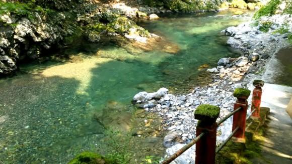京都で川遊びなら、高尾清滝川が...