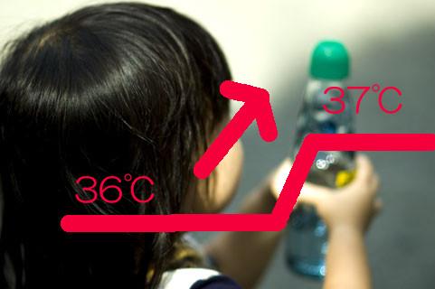 平熱が高い?1才半の子供の平熱が36度半ばから37度台に変わりました。