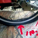 電動自転車パンク修理