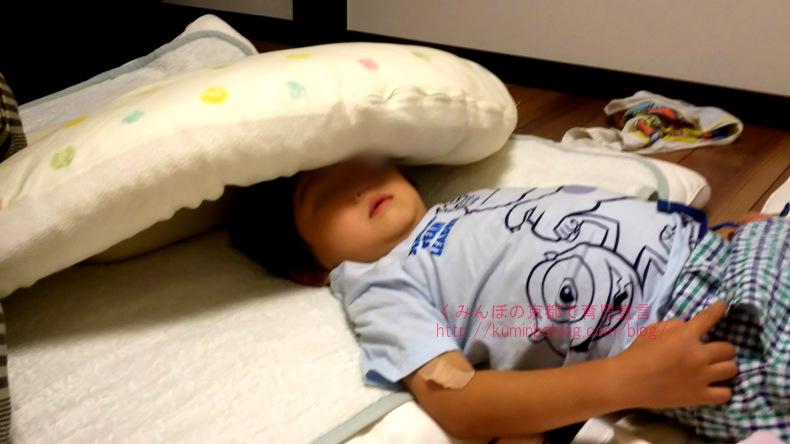 子供の突然の嘔吐/熱は微熱で咳なし下痢なしで胃腸炎なのか?