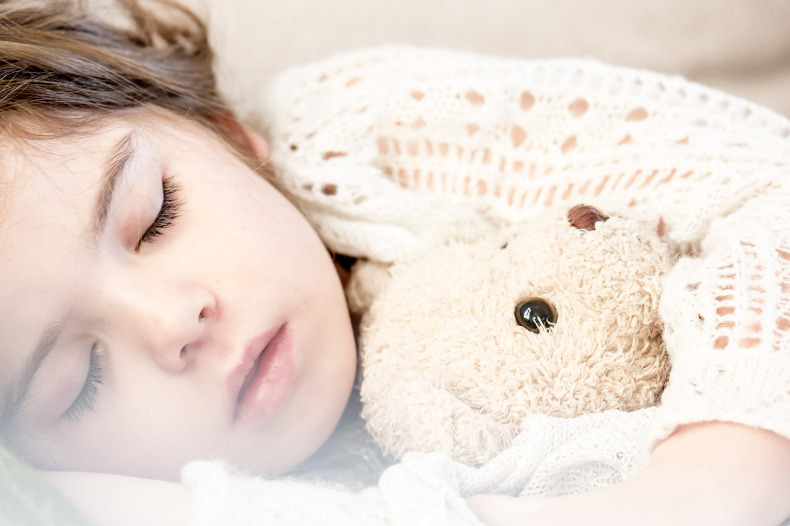 子供寝てる