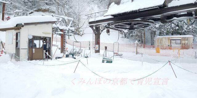 広河原スキー場のリフト