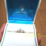 ダイヤモンドシライシ婚約指輪
